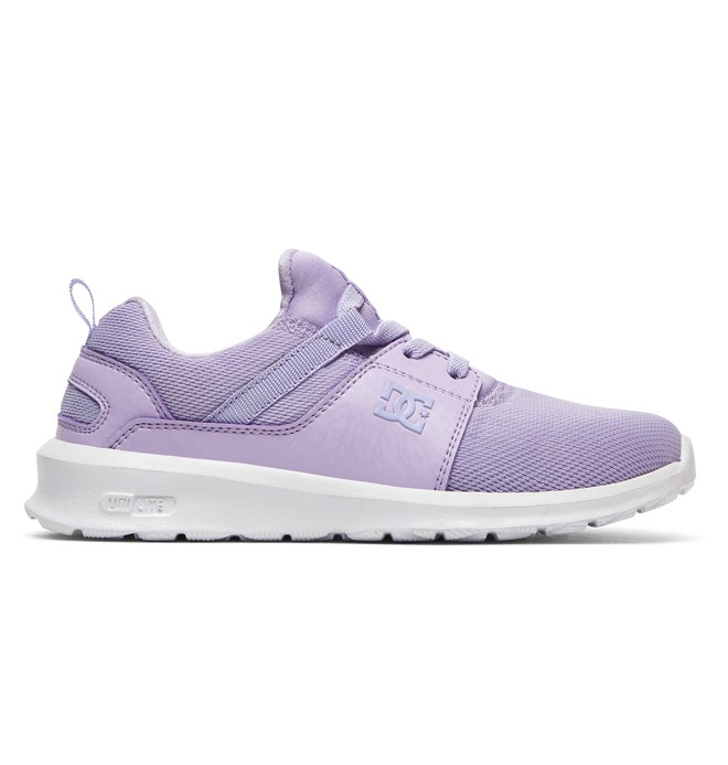 0 Heathrow - Zapatillas con Cordones Elásticos para Chicas Violeta ADGS700020 DC Shoes