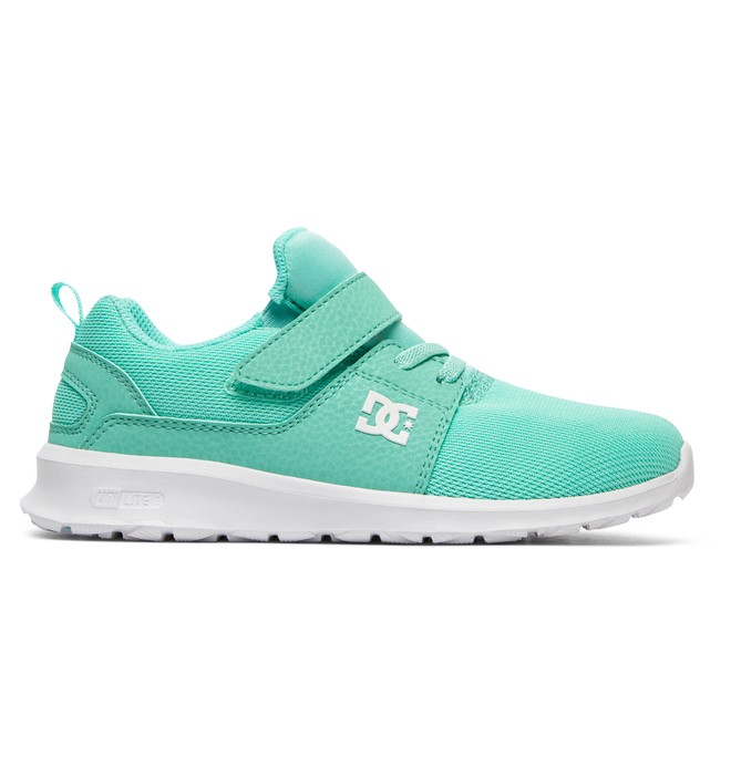 0 Heathrow EV - Elastic-Laced Shoes for Girls Green ADGS700022 DC Shoes