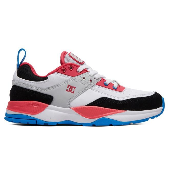0 Girl's 8-16 E.Tribeka Shoes White ADGS700026 DC Shoes