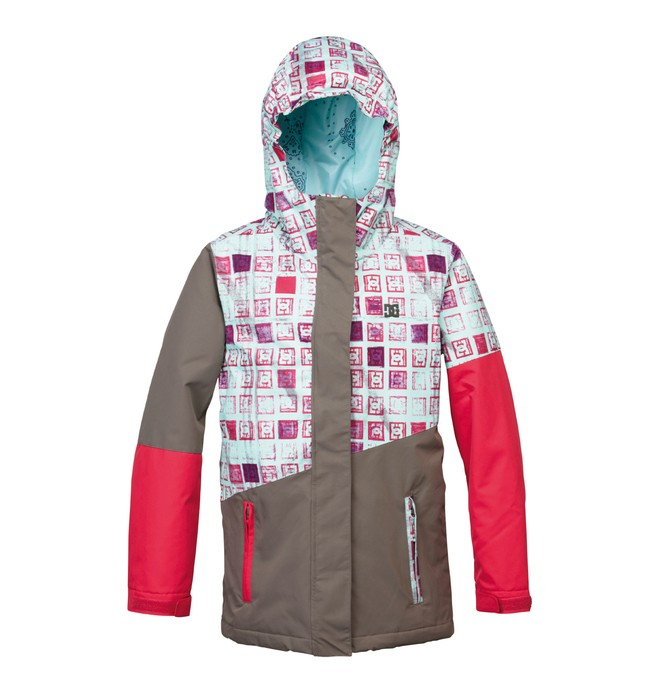 0 Girl's Fuse Snowboard Jacket  ADGTJ00002 DC Shoes