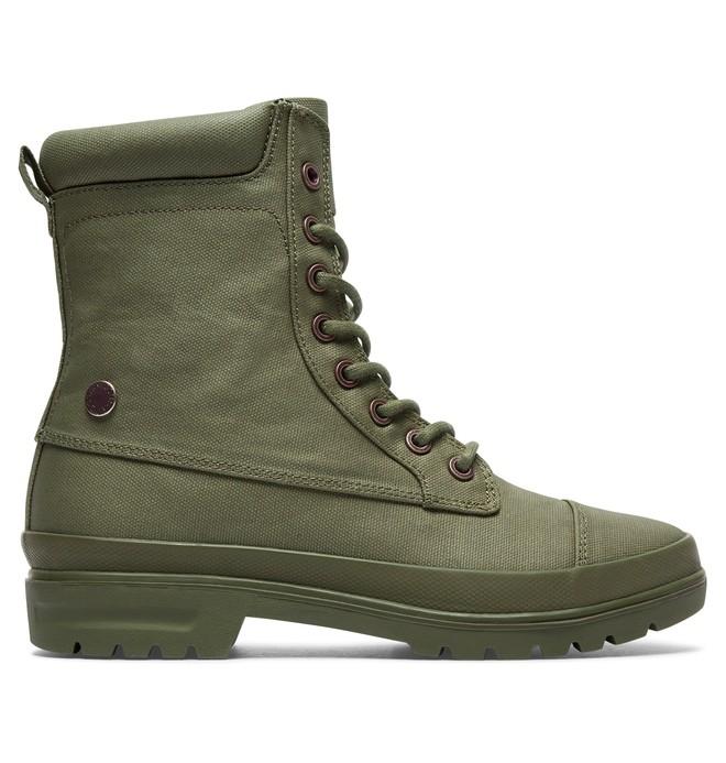 0 Amnesti TX - Bottes à lacets pour Femme Vert ADJB300009 DC Shoes