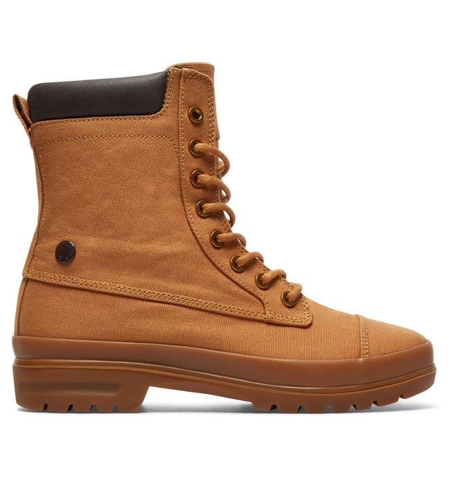 0 Amnesti TX - Botas Con Cordones para Mujer Beige ADJB300009 DC Shoes