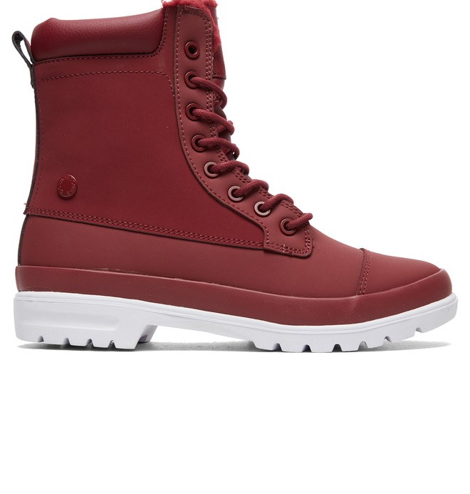 0 Amnesti WNT - Winterized Boots for Women Red ADJB300010 DC Shoes