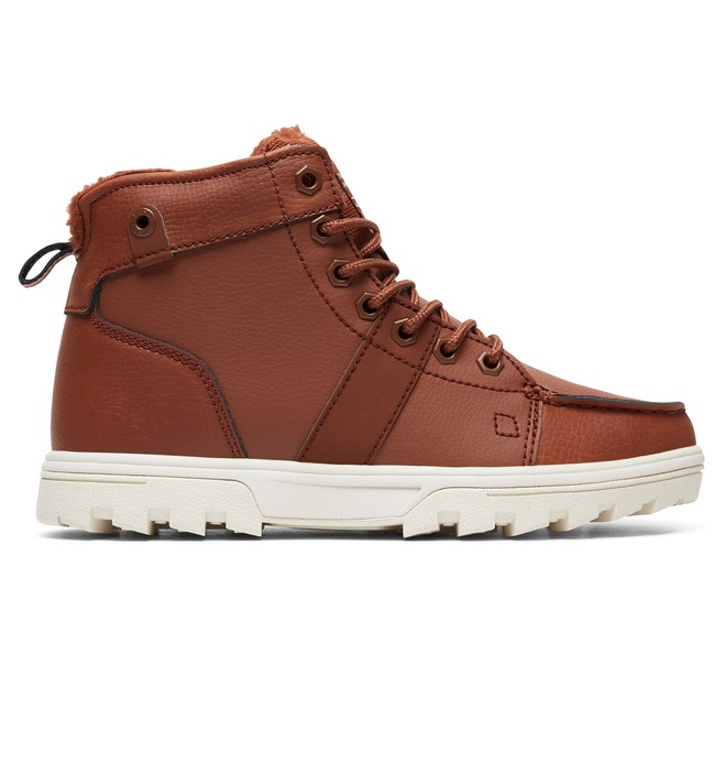 0 Women's Woodland Lace-Up Boots  ADJB700003 DC Shoes