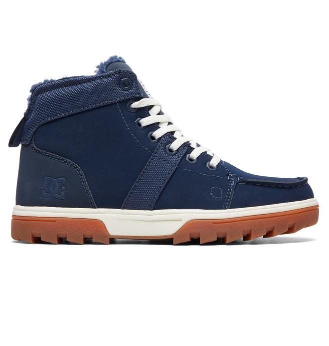 0 Woodland - Botas Con Cordones para Mujer Azul ADJB700003 DC Shoes