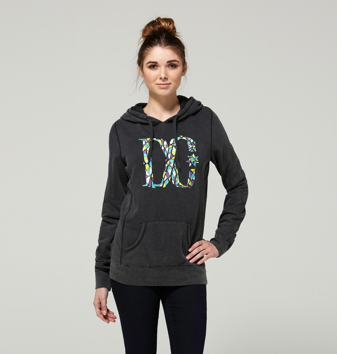 0 Women's Crackle Pullover Hoodie  ADJFT00023 DC Shoes
