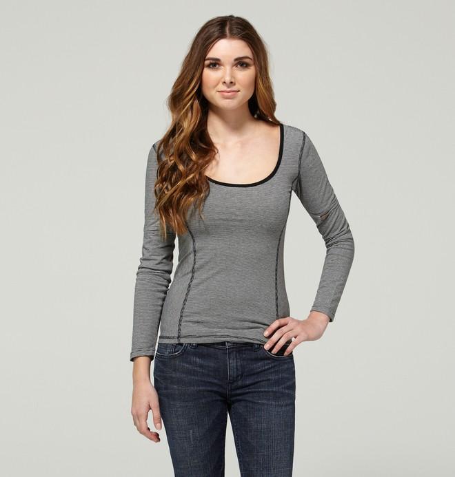 0 Women's Madge Long Sleeve Shirt  ADJKT00015 DC Shoes