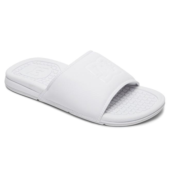 0 Bolsa SE - Sandales en cuir pour Femme Blanc ADJL100008 DC Shoes