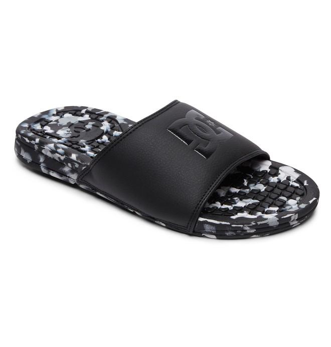 0 Women's Bolsa LE Slider Sandals Black ADJL100015 DC Shoes
