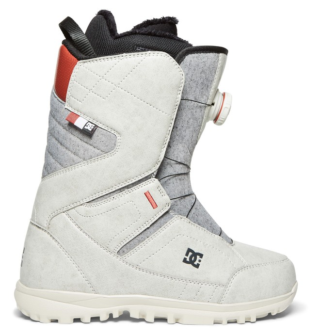0 Women's Search BOA Snowboard Boots Grey ADJO100013 DC Shoes