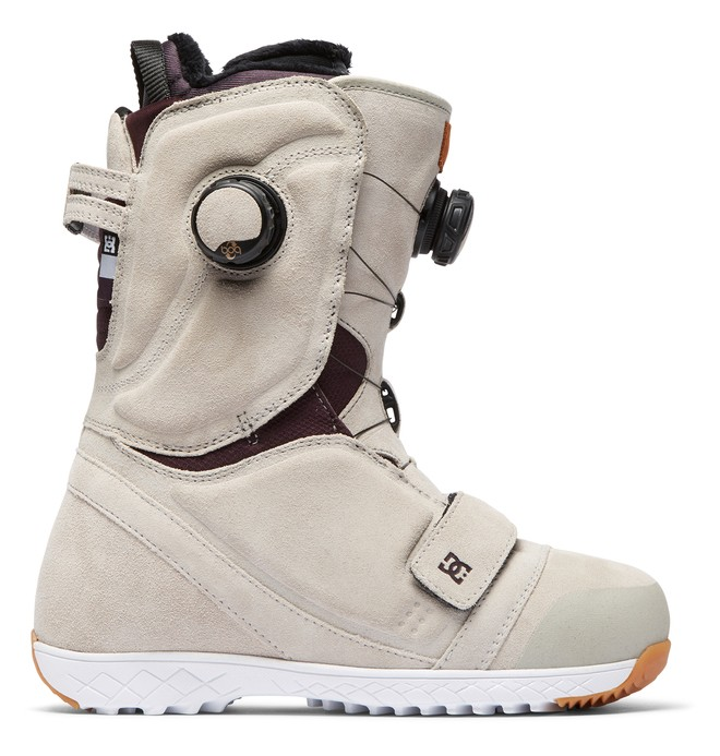 0 Women's Mora BOA Snowboard Boots White ADJO100014 DC Shoes