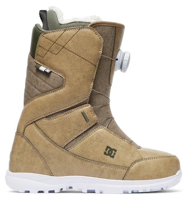 0 Women's Search BOA Snowboard Boots Brown ADJO100015 DC Shoes