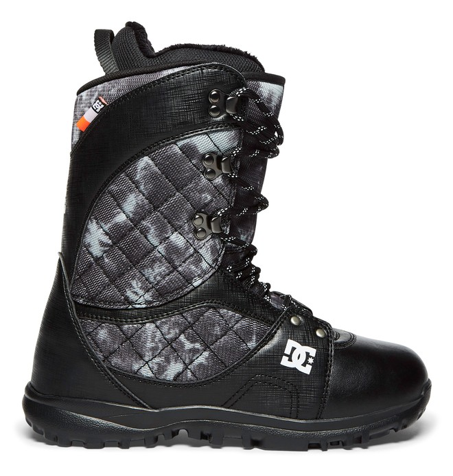 0 Karma - Lace-Up Snowboard Boots for Women Black ADJO200011 DC Shoes