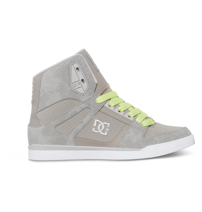 0 Women's Rebound Slim High Top Shoe  ADJS100051 DC Shoes