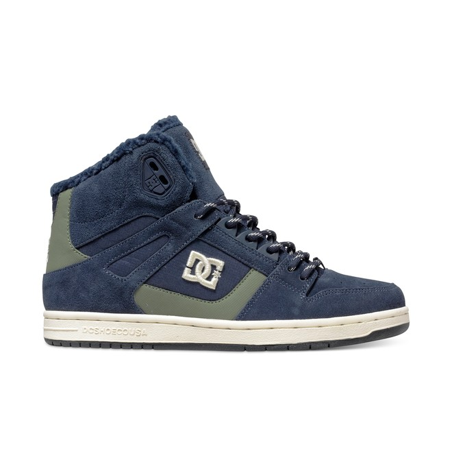 0 Women's Rebound High WNT Winterized High Top Shoes  ADJS100054 DC Shoes