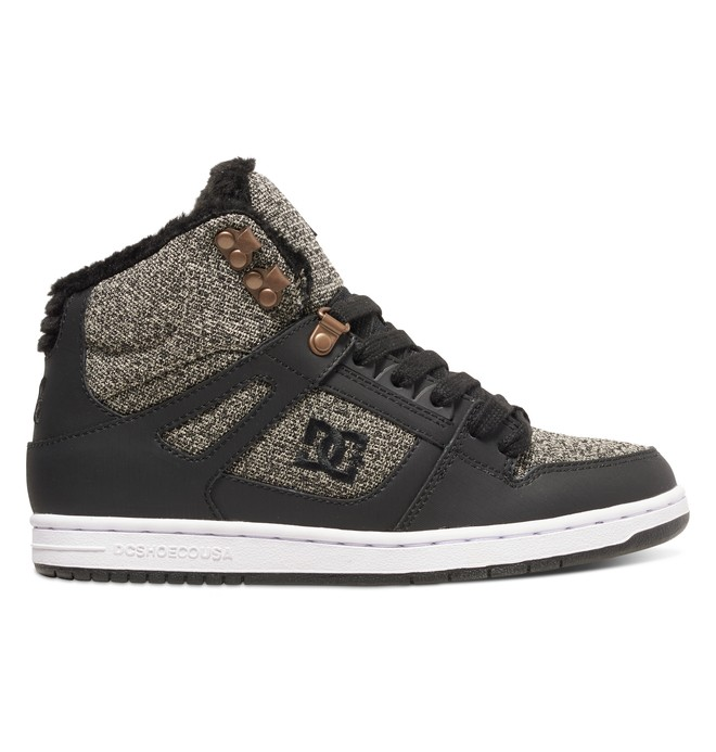 0 Rebound High WNT - Winterized High-Top Shoes for Women  ADJS100054 DC Shoes