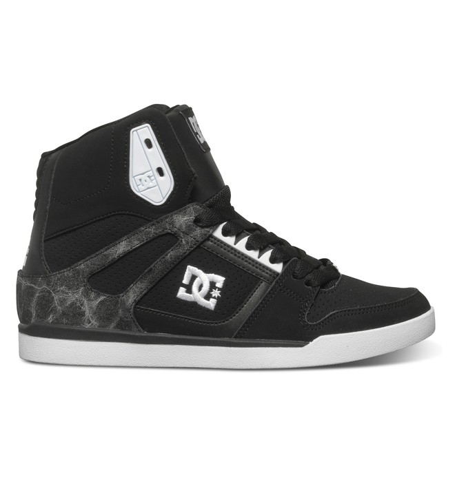 0 Women's Rebound Slim SE High-Top Shoes  ADJS100057 DC Shoes
