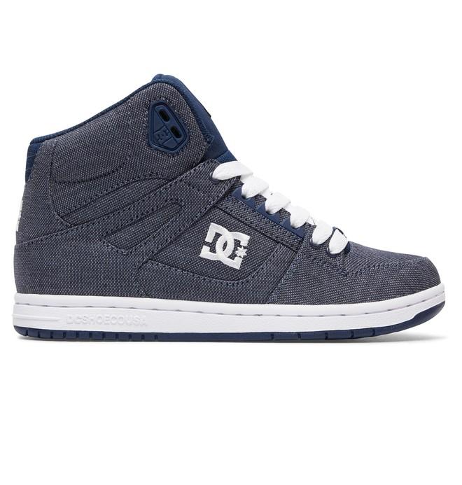 0 Rebound High TX SE - Chaussures montantes Bleu ADJS100065 DC Shoes