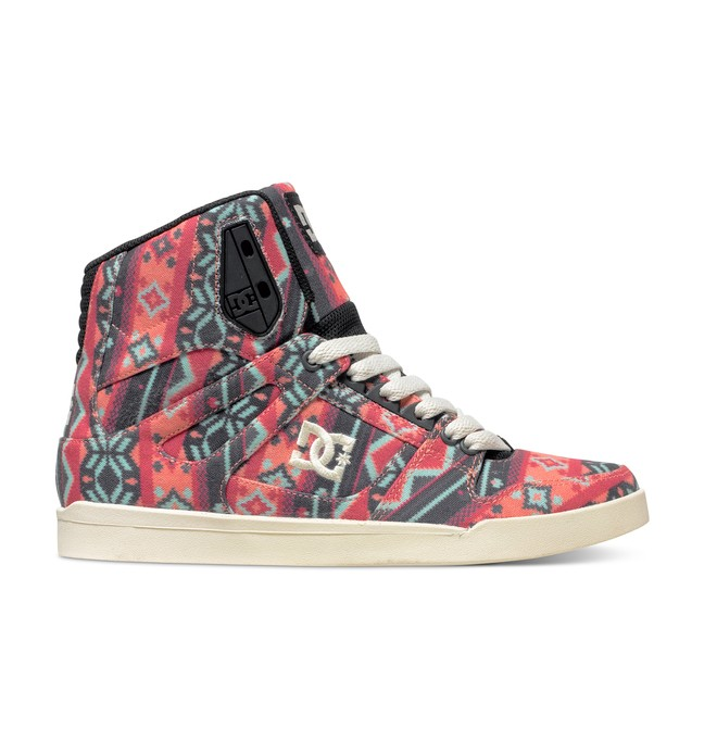 0 Women's Rebound Slim SP High-Top Shoes  ADJS100070 DC Shoes
