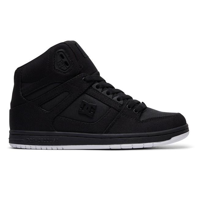 0 Women's Pure TX SE High Top Shoes Black ADJS100115 DC Shoes