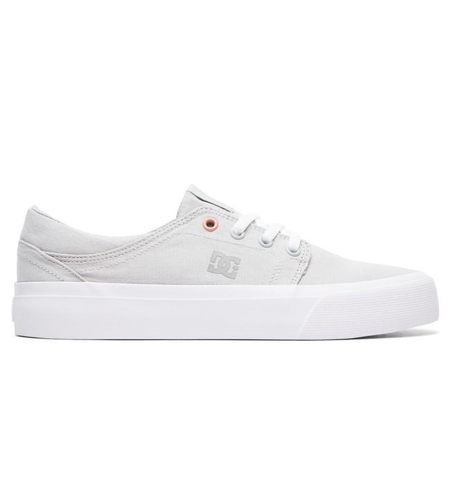 0 Women's Trase TX Shoes Grey ADJS300078 DC Shoes