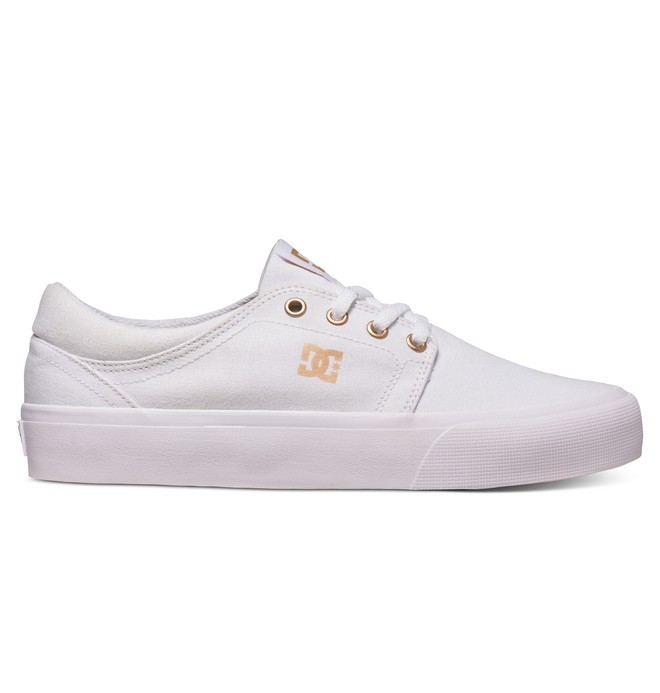 0 Trase TX - Chaussures Blanc ADJS300078 DC Shoes