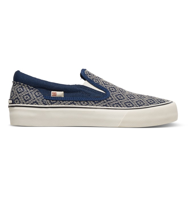 0 Trase Slip-On Printed - Zapatillas Azul ADJS300099 DC Shoes