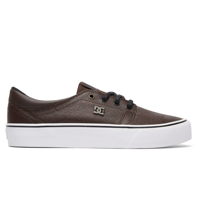 0 Women's Trase LE Leather Shoes Brown ADJS300145 DC Shoes