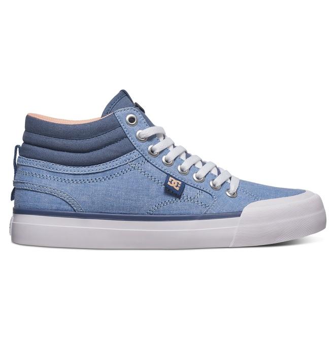 0 Evan Hi TX SE - Zapatillas Altas para Mujer Verde ADJS300164 DC Shoes