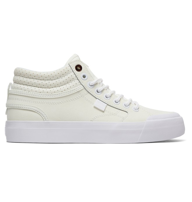 0 Women's Evan HI SE High-Top Shoes White ADJS300182 DC Shoes