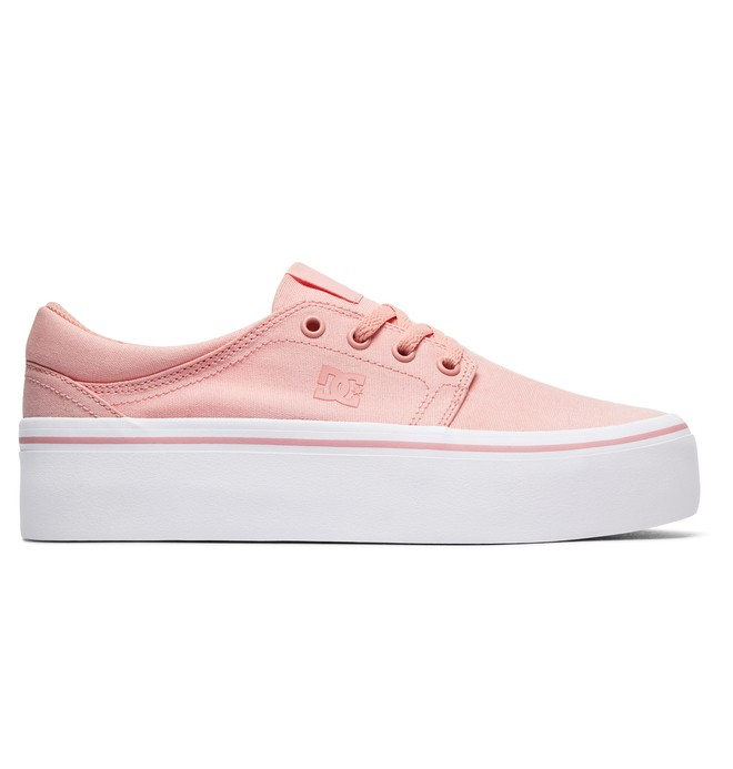 0 Women's Trase Platform TX Shoes Pink ADJS300184 DC Shoes