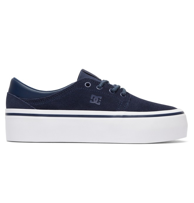 0 Trase Platform SE - Shoes for Women Blue ADJS300187 DC Shoes