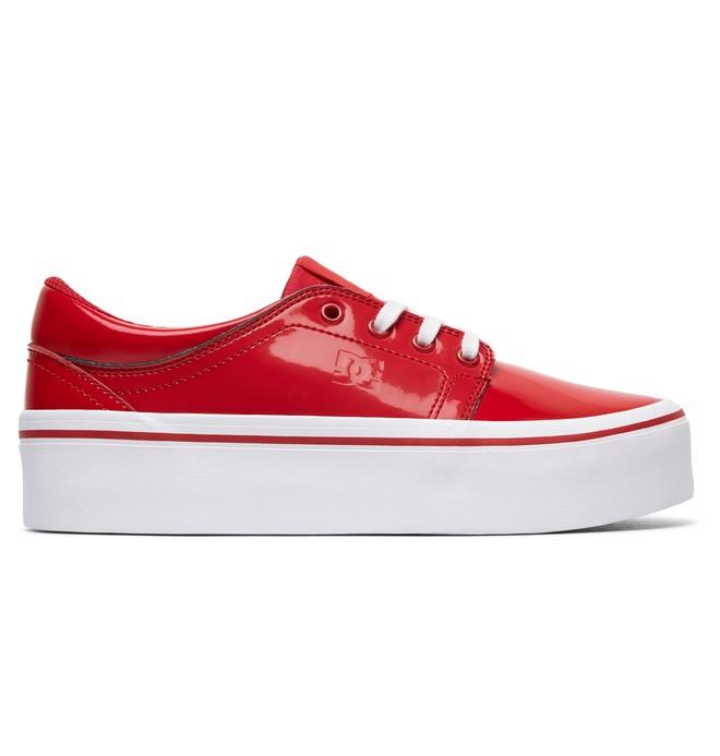 0 Trase Platform SE Shoes Red ADJS300187 DC Shoes