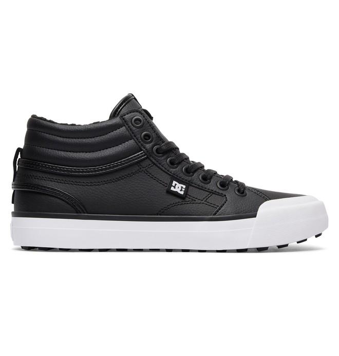 0 Women's Evan Hi WNT High-Top Winter Shoes Black ADJS300188 DC Shoes