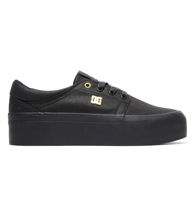 0 Women's Trase Platform TX SE Shoes Black ADJS300196 DC Shoes