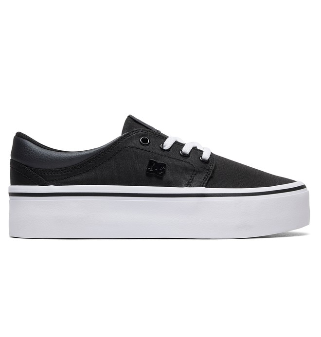 0 Trase Platform TX SE Shoes Black ADJS300196 DC Shoes