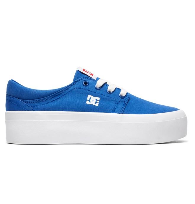 0 Trase Platform TX SE Shoes Blue ADJS300196 DC Shoes