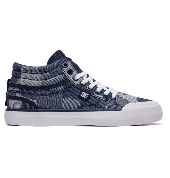 0 Evan Hi TX LE - Chaussures montantes pour Femme Bleu ADJS300199 DC Shoes