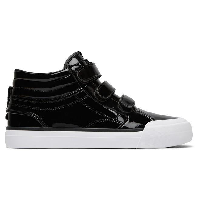 0 Women's Evan Hi V SE High-Top Shoes Black ADJS300200 DC Shoes