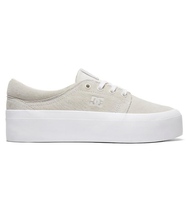 0 Zapatos de Plataforma LE Trase para Mujer Blanco ADJS300218 DC Shoes