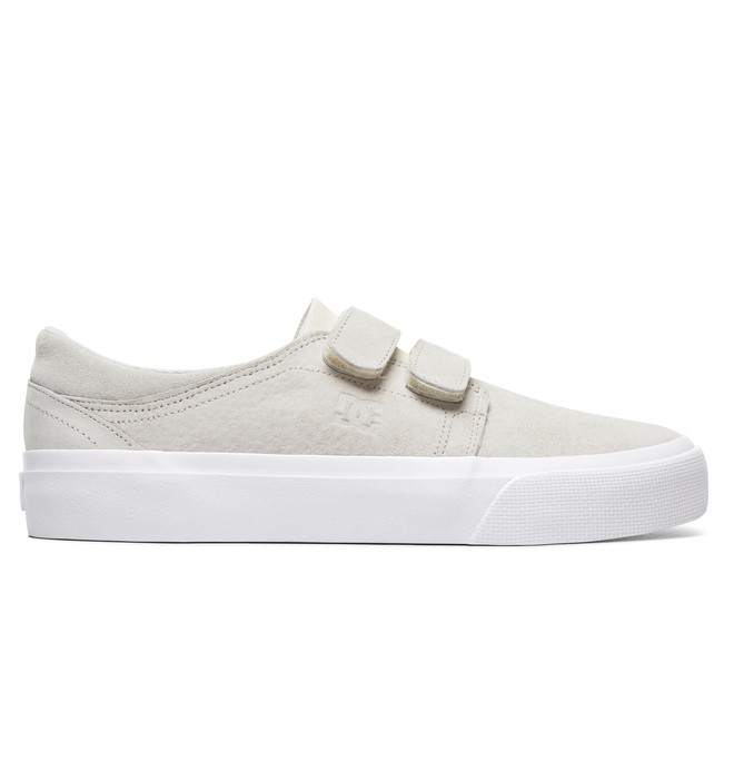 0 Women's Trase V LE Leather Shoes White ADJS300220 DC Shoes