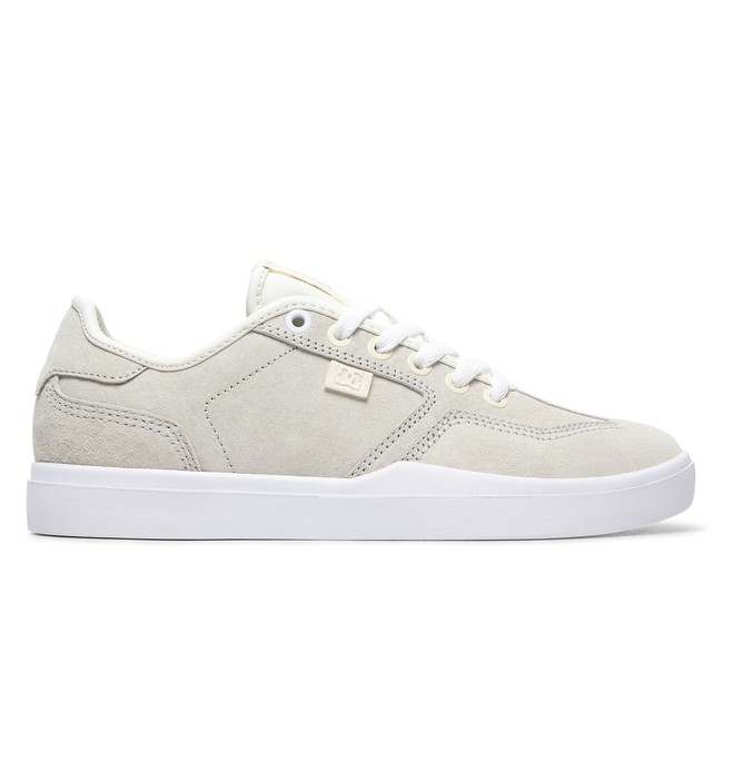 0 Vestrey LE - Leather Shoes for Women White ADJS300224 DC Shoes