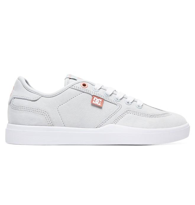 0 Zapatos de Piel LE Vestrey para Mujer Gris ADJS300224 DC Shoes