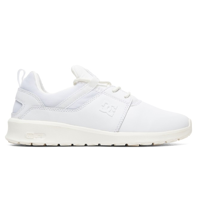 0 Heathrow LE - Chaussures en cuir Blanc ADJS700038 DC Shoes