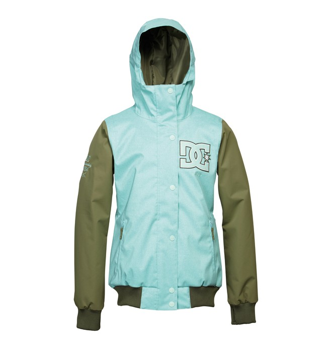 0 Women's Squad Snowboard Jacket  ADJTJ00003 DC Shoes