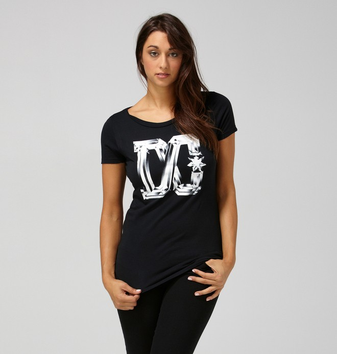 0 Women's Lattice Tee  ADJZT00007 DC Shoes