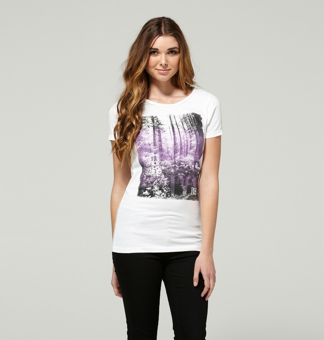 0 Women's Forrester Tee  ADJZT00042 DC Shoes
