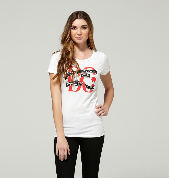 0 Women's Pariah Tee  ADJZT00044 DC Shoes