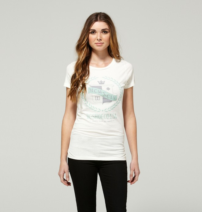 0 Women's Whispers Tee  ADJZT00048 DC Shoes