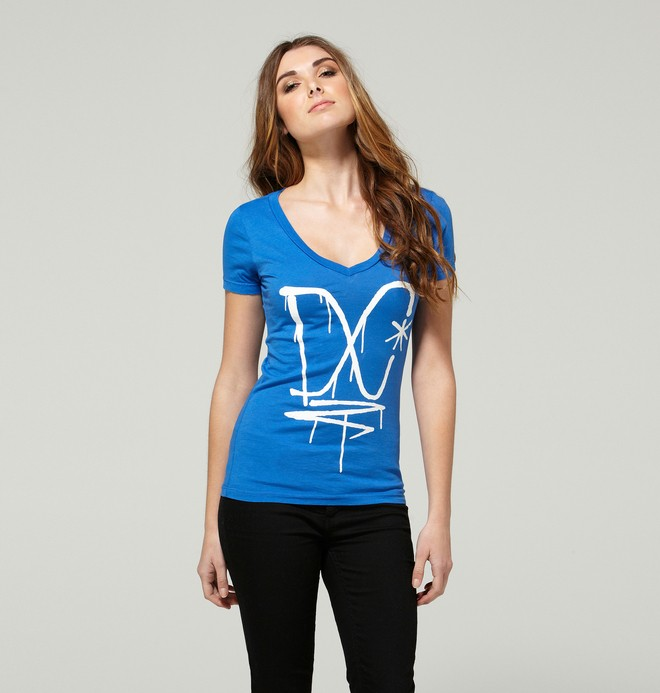 0 Women's Territory Tee  ADJZT00051 DC Shoes